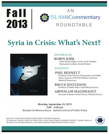 Syria in Crisis: What's Next?