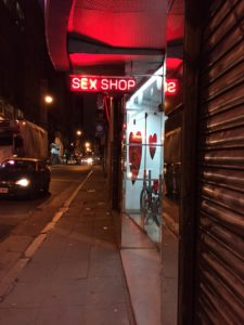 A sex shop near where I'm living