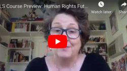 New course on Human Rights Futures