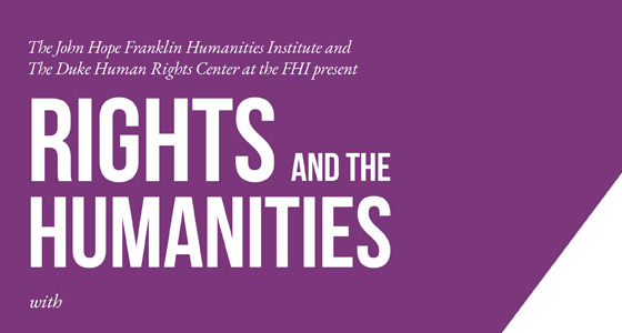 Interview with 2021 Rights and the Humanities speaker H. Timothy Lovelace Jr.