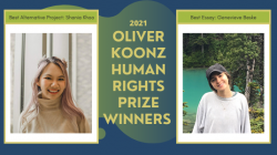 2021 Oliver Koonz Human Rights Prize Winners