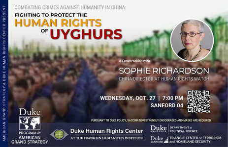 Combatting Crimes Against Humanity in China: Fighting to Protect the Human Rights of Uyghurs